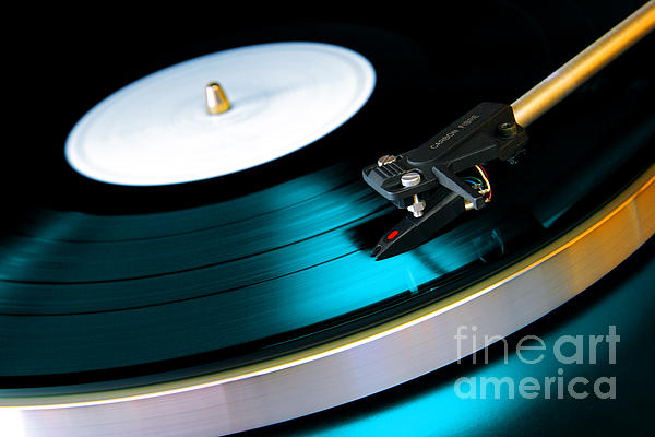 Vinyl Record Print by Carlos Caetano