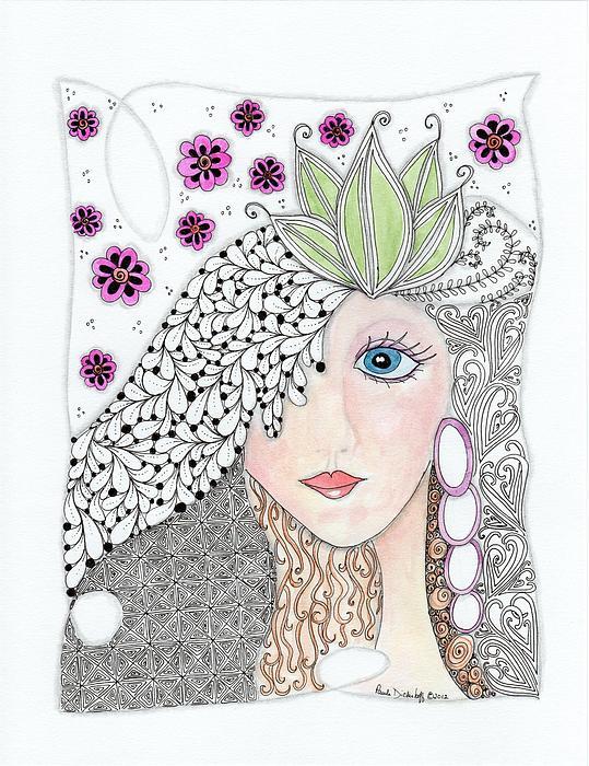 Vivian Print by Paula Dickerhoff