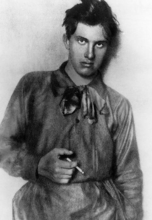Vladimir Mayakovsky 1893-1930, Russian Print by Everett