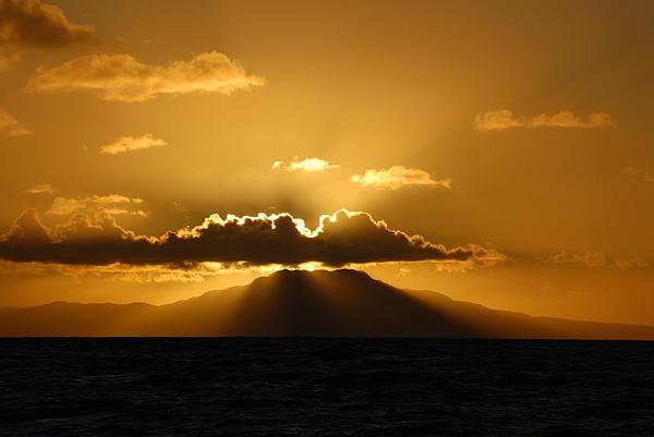 Ron Carbone - Volcano Sun Set
