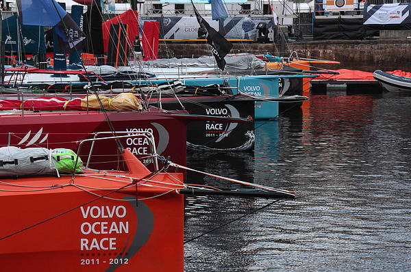 Volvo Ocean Race 2011-2012 Print by Peter Skelton