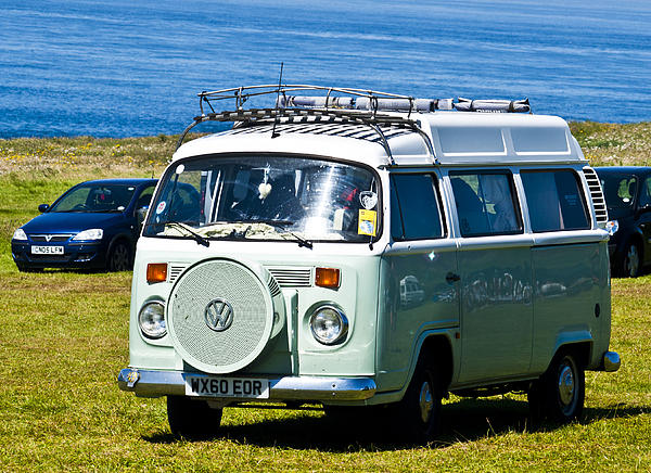 Vw Camper Print by Paul Howarth