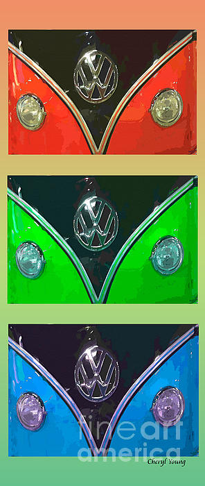 Cheryl Young - VW Triptych 4
