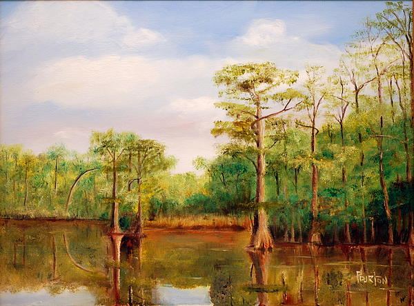 Waccamaw Breeze IIi Painting