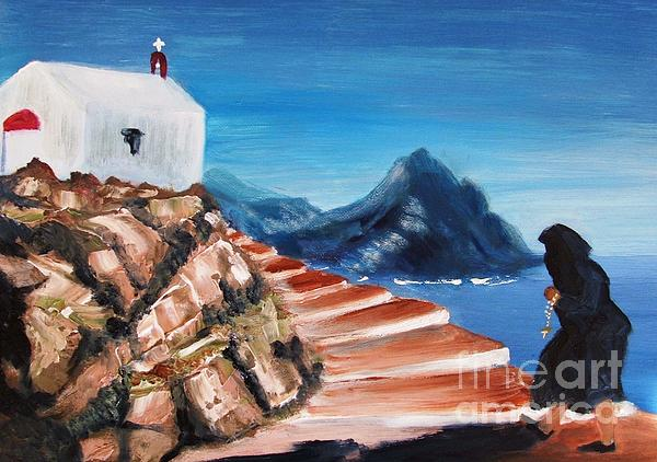 Therese Alcorn - Walk of Faith