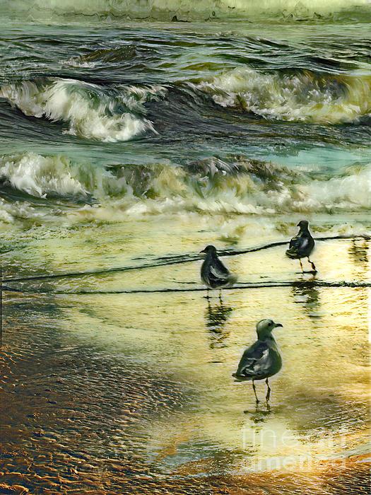 Anne Weirich - Walking at beach
