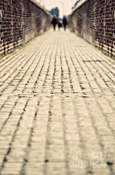 Walking Away Print by Meirion Matthias