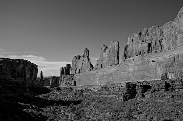 Wall Street Arches National Park Utah Print by Scott McGuire