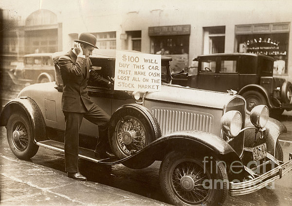 Wall Street Crash, 1929 Print by Granger