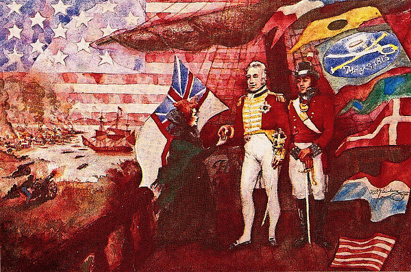 War Of 1812 Print by Dean Gleisberg