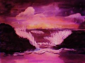 Anna Lewis - Warm crashing waves