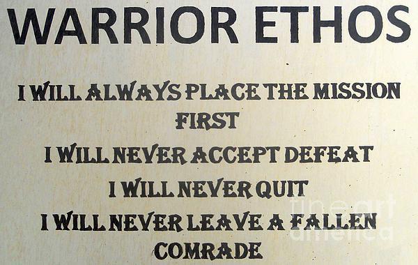 on the warrior ethos essay on the warrior ethos
