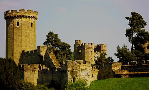 Warwick Castle Print by Ian Flear