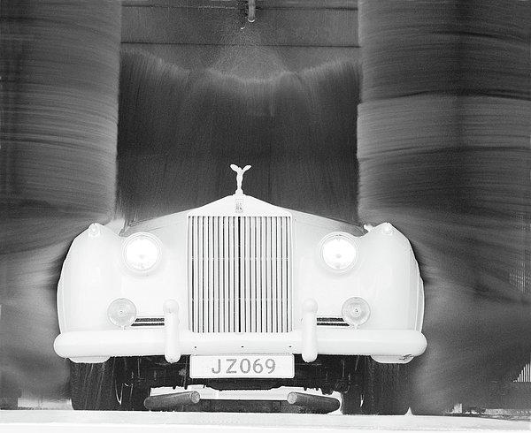 Jan Faul - Washed Rolls Royce