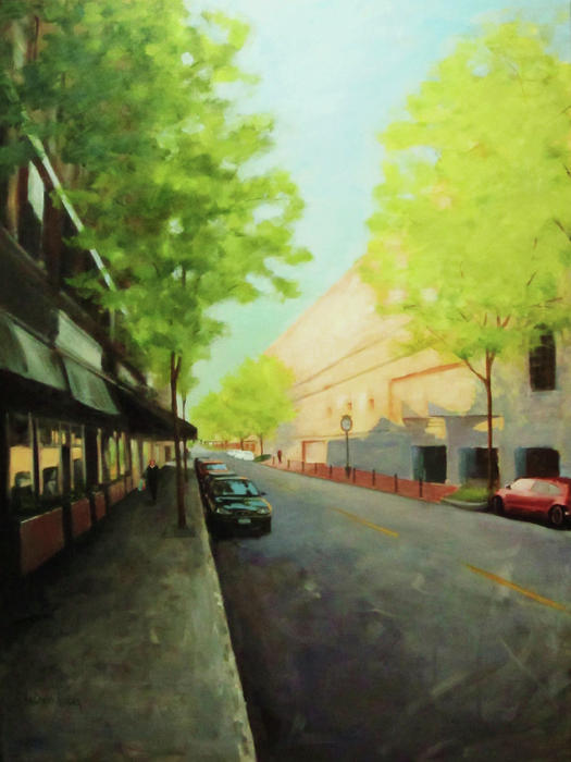 Washington Street Painting