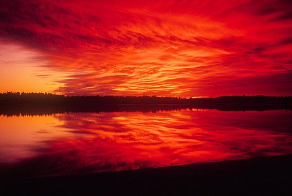 Tim  Canwell - Watchic Sunset