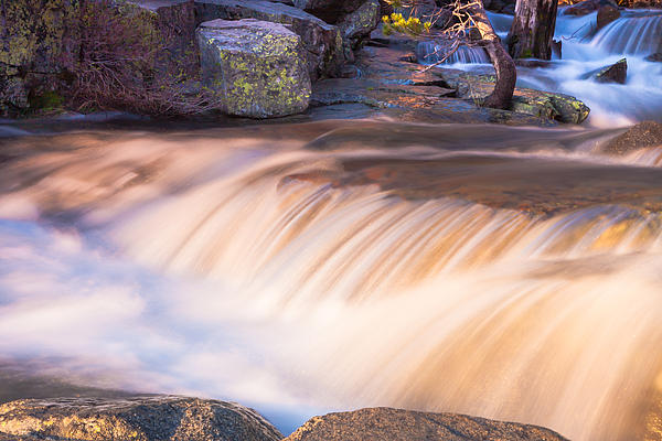 Water And Rocks Print by Marc Crumpler