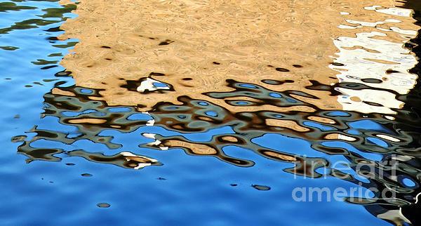 Water Art Print by Kaye Menner