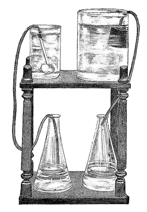 Water Filters, 19th Century Print by