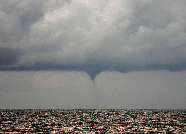 Water Spout Print by Christy Usilton