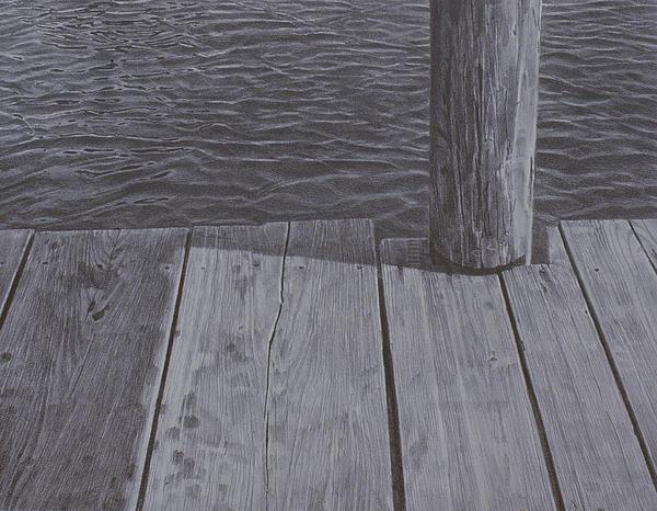 Water1 Print by Jeffrey Babine