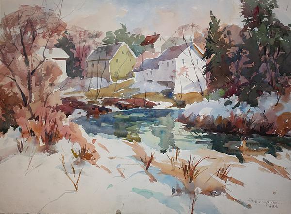 Peter Spataro - Watercolor