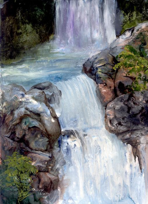 Sherry Shipley - Waterfall 1
