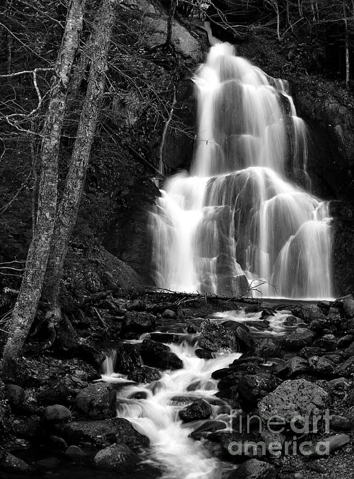 Mike Nellums - Waterfall BW