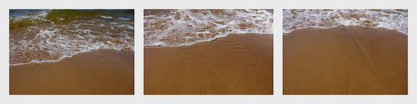 Waves Triptych Print by Michelle Calkins