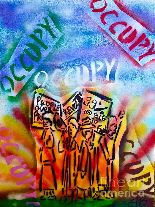 We Occupy Print by Tony B Conscious