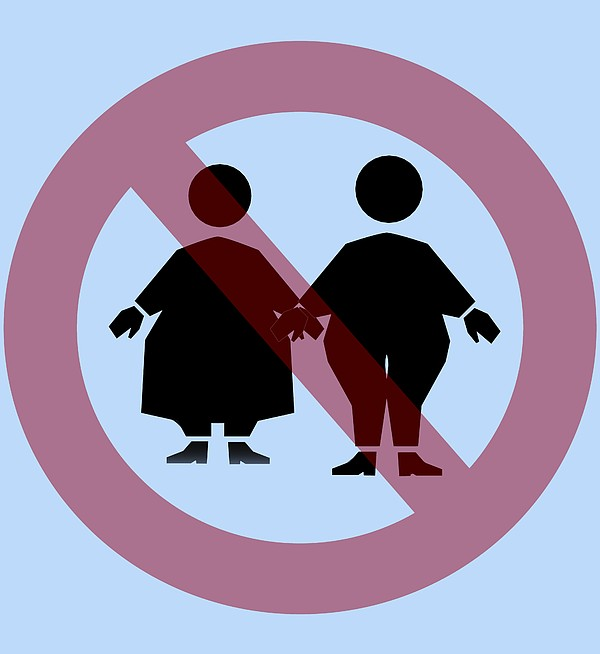 Weight Discrimination, Computer Artwork Print by Christian Darkin
