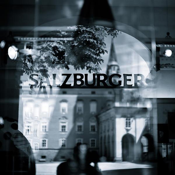 Welcome To Salzburg Print by David Bowman
