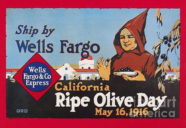 Wells Fargo Express, 1916 Print by Granger