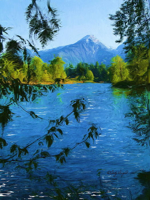 Cindy Wright - Wenatchee River