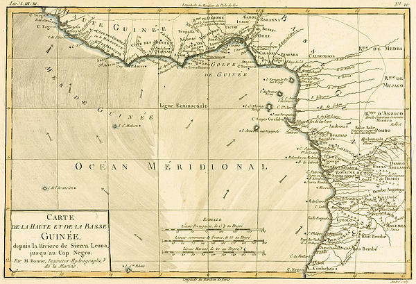 West Africa Print by Guillaume Raynal