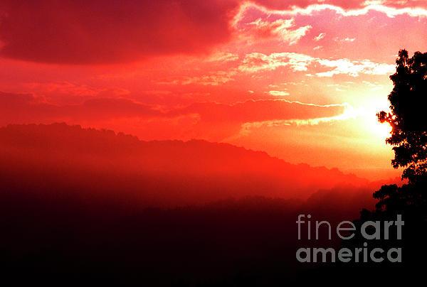 West Virginia Sunrise Print by Thomas R Fletcher