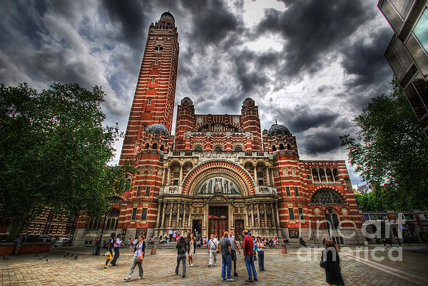Westminster Cathedral Print by Yhun Suarez
