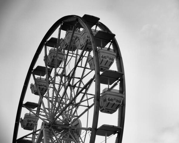 Wheel O Fun Photograph  - Wheel O Fun Fine Art Print