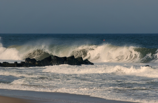 When the Ocean Speaks - Jersey Shore Photograph