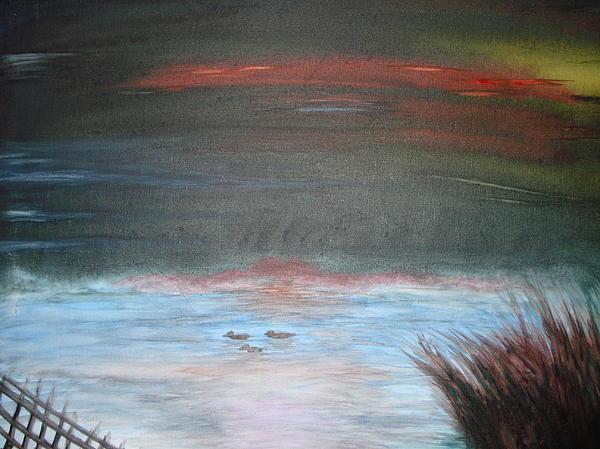 Where The Life Meets The Horizon Print by Prasenjit Dhar