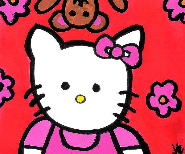 Wheres My Teddy Print by Jera Sky