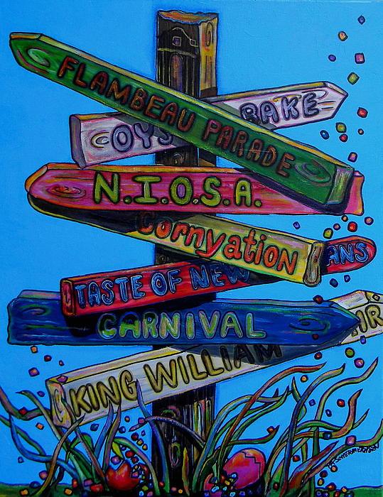 Which Way Print by Patti Schermerhorn