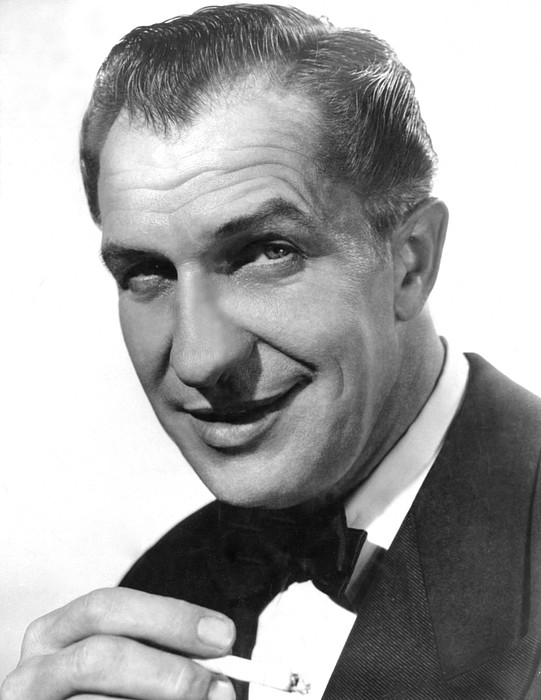 While The City Sleeps, Vincent Price Print by Everett