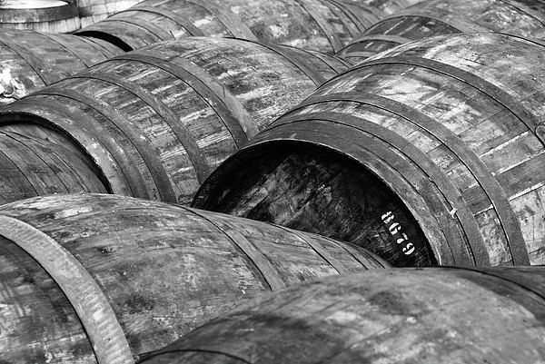 Whisky Barrels Print by (C)Andrew Hounslea