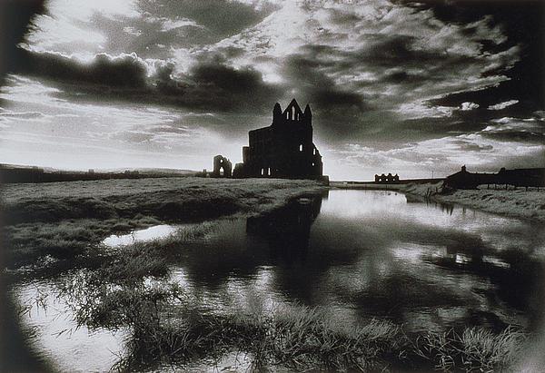 Whitby Abbey Print by Simon Marsden