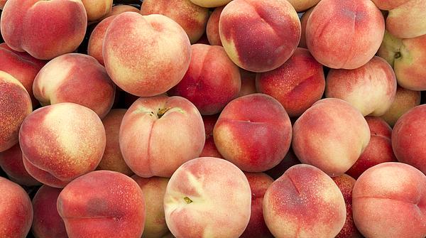 White Peaches Print by John Trax