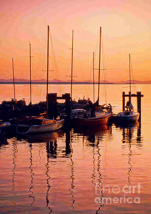 Randy Harris - White Rock Sailboats HDR