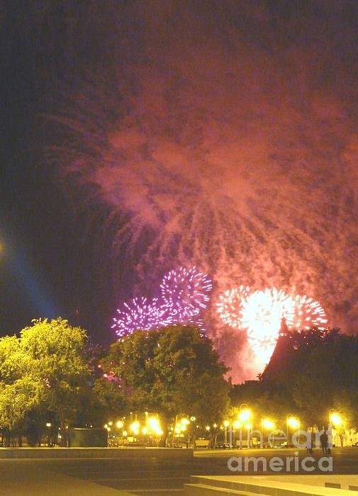 Why Fireworks Print by Alisa Tek