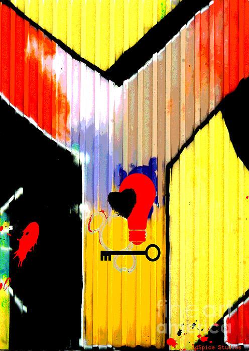 Why Graffiti Print by AdSpice Studios