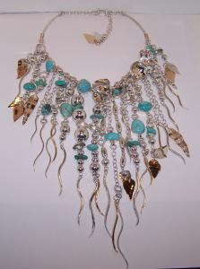 Wild And Sexy Turquoise Collar Jewelry